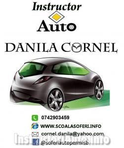 DANILA CORNEL – Instructor Auto – Bucuresti
