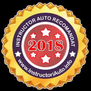 Instructor auto recomandat 2018